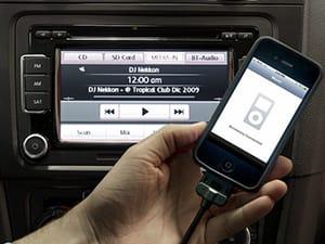 iPod blue clover